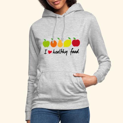 Healthy food - Sudadera con capucha para mujer