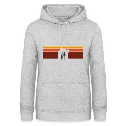 Couple in tunnel warm - Dame hoodie