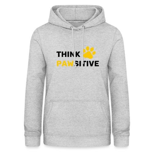 think pawsitive - Sweat à capuche Femme