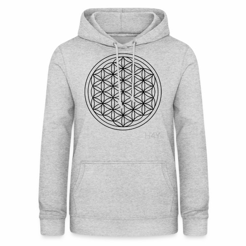 Flower Of Life - This Design Will Heal You - Dame hoodie