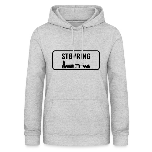 Støvring Byskilt New - Dame hoodie