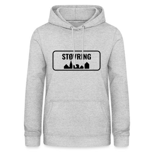 Støvring Byskilt - Dame hoodie