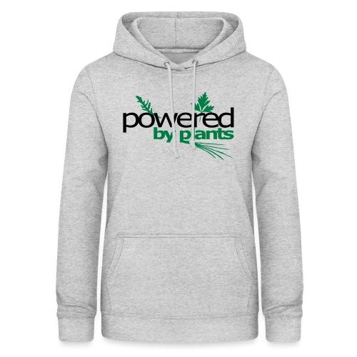POWERED BY PLANTS - Frauen Hoodie