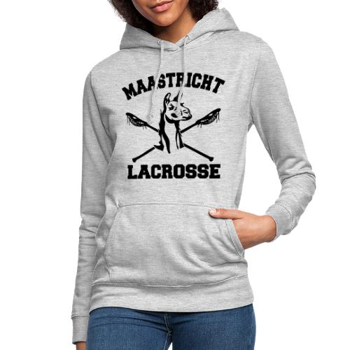Maastricht Lacrosse - Black - Vrouwen hoodie