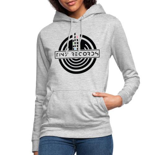 Tiny Record - Black Logo - Dame hoodie