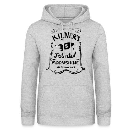 Kilner's Patented Moonshine (Black) - Women's Hoodie