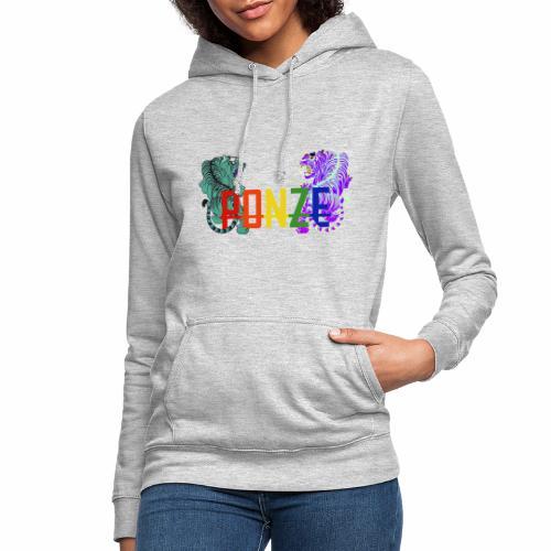 Tigerdesign 2 - Frauen Hoodie