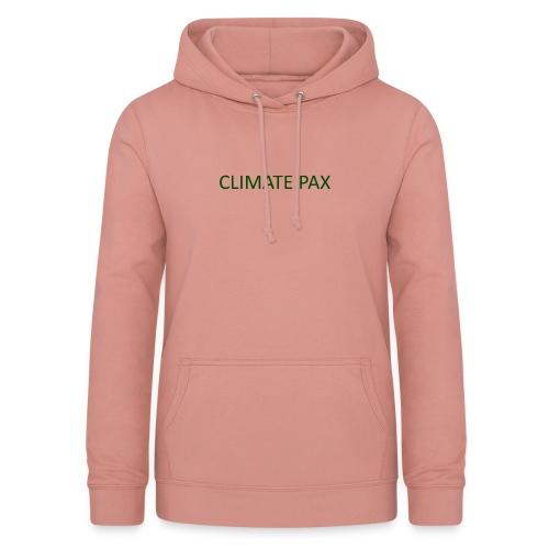 climate pax - Frauen Hoodie