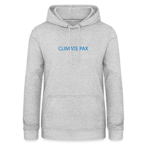 climate pax blue - Frauen Hoodie