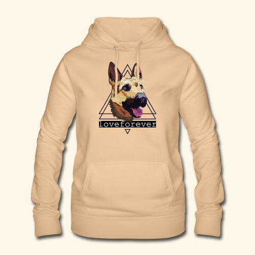 SHEPHERD LOVE FOREVER - Sudadera con capucha para mujer
