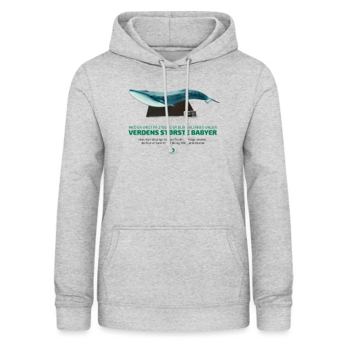 Blåhvalens unger - Dame hoodie