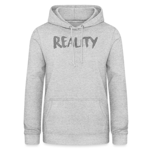 White_REALITY - Sweat à capuche Femme