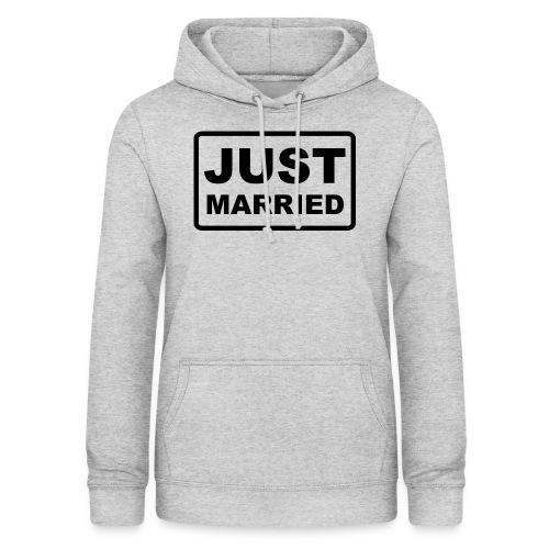 Just Married - Frauen Hoodie