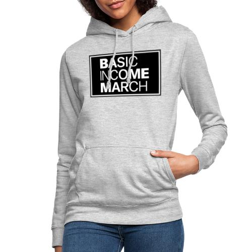 basic income march - Vrouwen hoodie