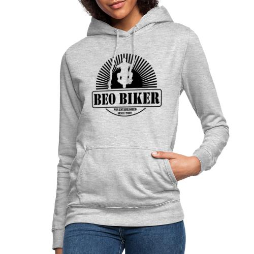Logo Beo Biker Black - Frauen Hoodie