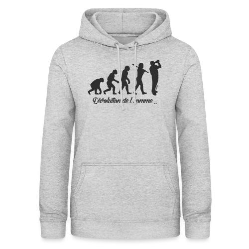évolution homme (H) - Sweat à capuche Femme