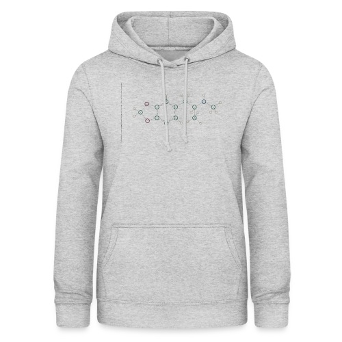 Molecuul MDMA - 'Where is Molly?' - Vrouwen hoodie
