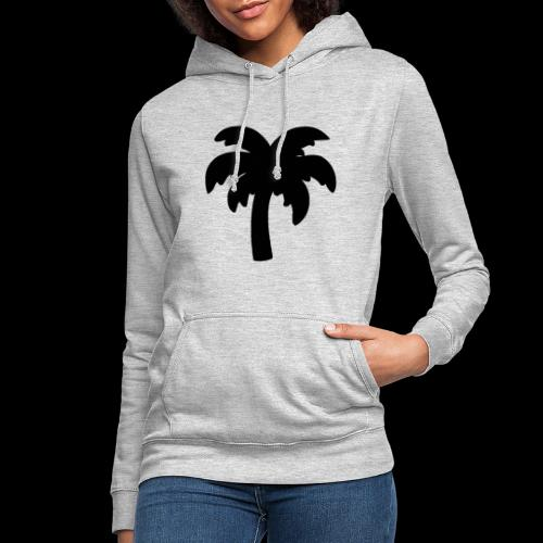 Palm Basic Black - Dame hoodie