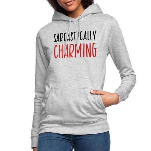 sarcastically charming - Vrouwen hoodie