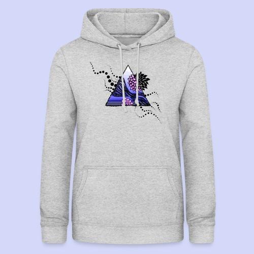 Ocean Blue - kvinde - Dame hoodie