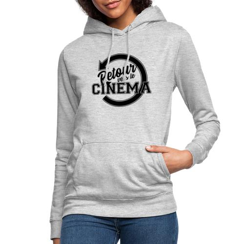 Logo Retour vers le Cinéma - Sweat à capuche Femme