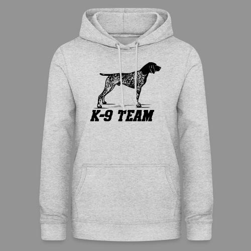 K-9 Team - German Shorthaired Pointer - Women's Hoodie