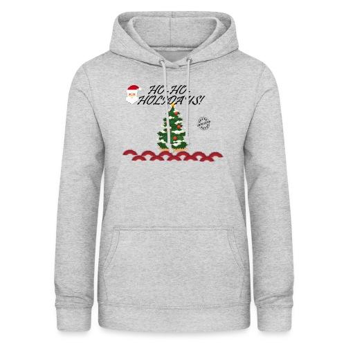 CHRISTMAS - Sudadera con capucha para mujer