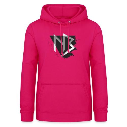 T-shirt NiKyBoX - Felpa con cappuccio da donna