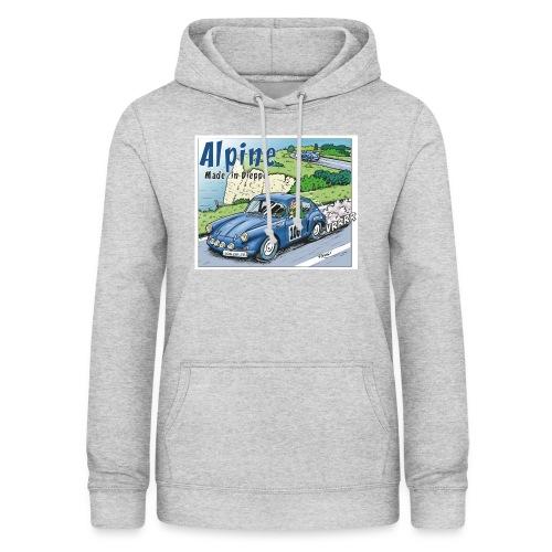 Polete en Alpine 106 - Sweat à capuche Femme