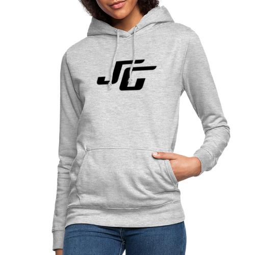 JG Logo schwarz - Frauen Hoodie