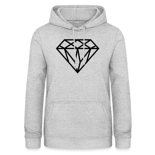 Diamond Graphic // Diamant Grafik - Frauen Hoodie