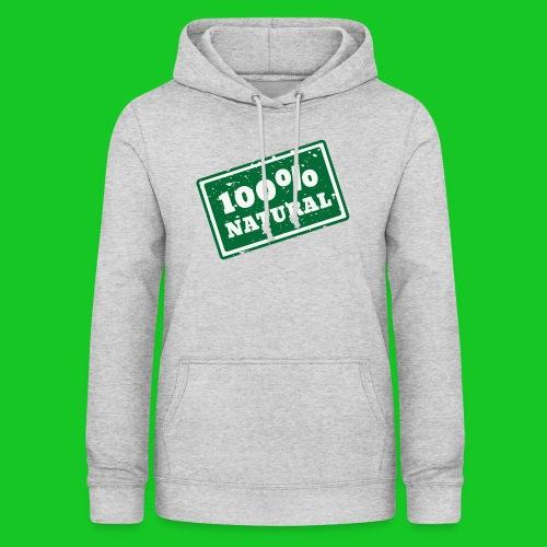 100% natural PNG - Vrouwen hoodie