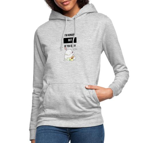 logo oso - Sudadera con capucha para mujer