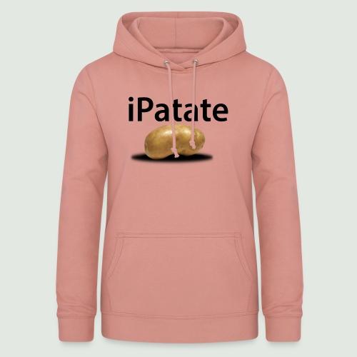 iPatate - Sweat à capuche Femme