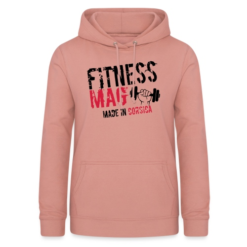 Fitness Mag made in corsica 100% Polyester - Sweat à capuche Femme