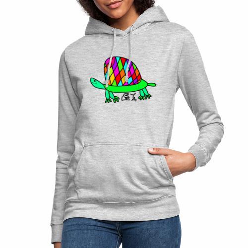 Schildkröte von Lea Version 2 - Frauen Hoodie