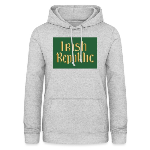 Original Irish Republic Flag - Women's Hoodie