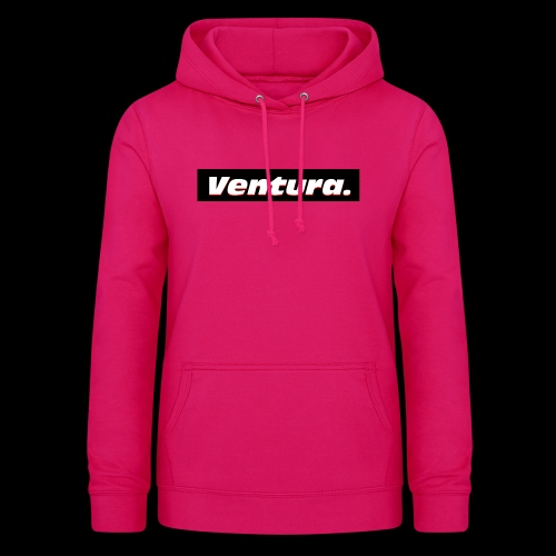 Ventura Black Logo - Vrouwen hoodie