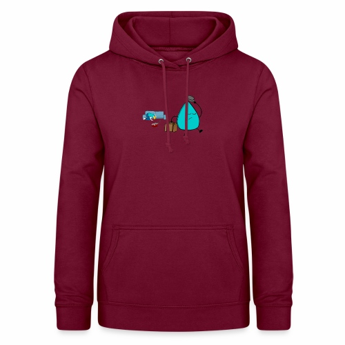 plectrumblauw - Vrouwen hoodie