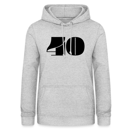 40 - FORTY - Women's Hoodie