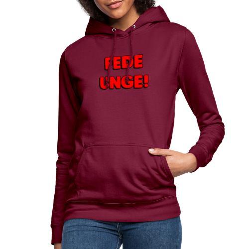 FEDE UNGE - Dame hoodie