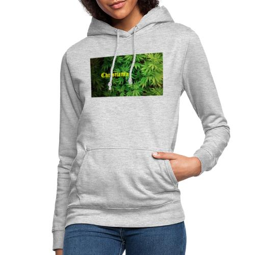 Christiania Hash Logo - Dame hoodie