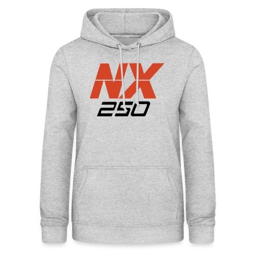 nx250 logo transparant - Vrouwen hoodie