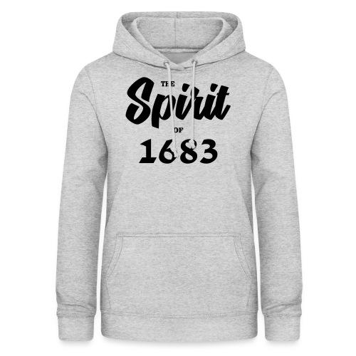 The Spirit of 1683 - Frauen Hoodie