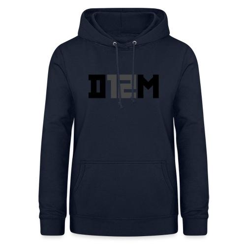 D12M: SHORT BLACK - Vrouwen hoodie