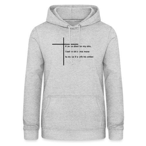 Jesus - Dame hoodie