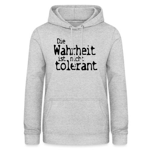 tolerant (JESUS-shirts) - Frauen Hoodie