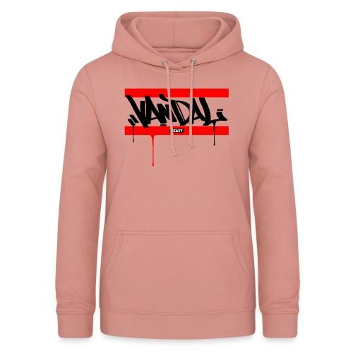 #EASY Graffiti Vandal T-Shirt - Felpa con cappuccio da donna