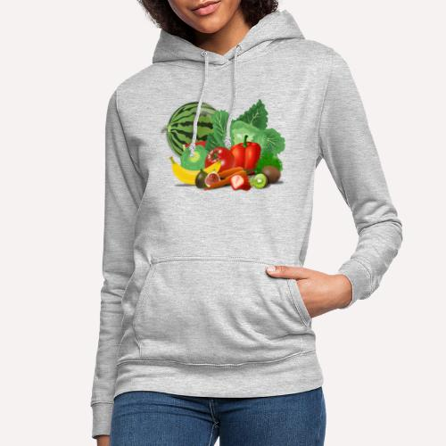Fruits and vegetables lover - Women's Hoodie