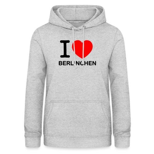 I love Berlinchen - Frauen Hoodie